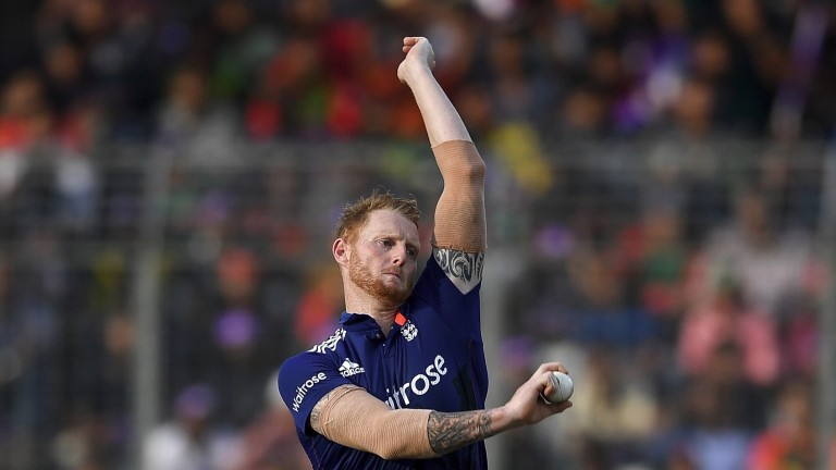 Ben Stokes is coming into form with both bat and ball