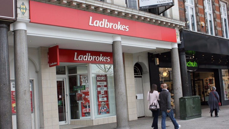 Ladbrokes: pair deny damaging one of bookmaker's shops