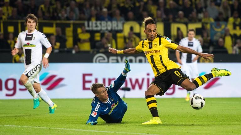 Dortmund star Pierre-Emerick Aubameyang carries the hopes of Gabon