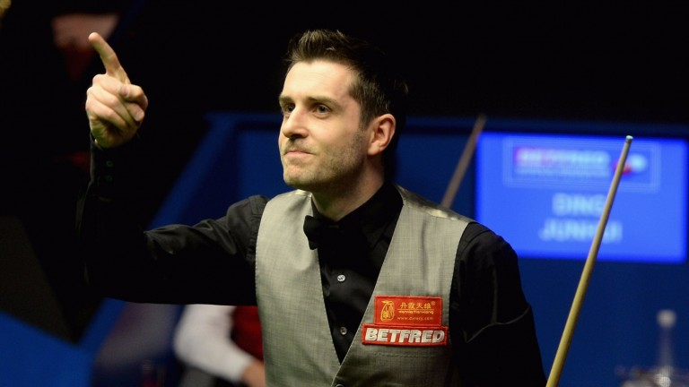 World champion Mark Selby