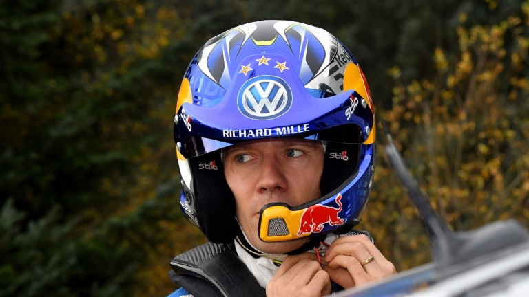 Sebastien Ogier is looking for a fifth world title