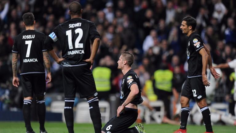 Deportivo La Coruna have not won away from home this season