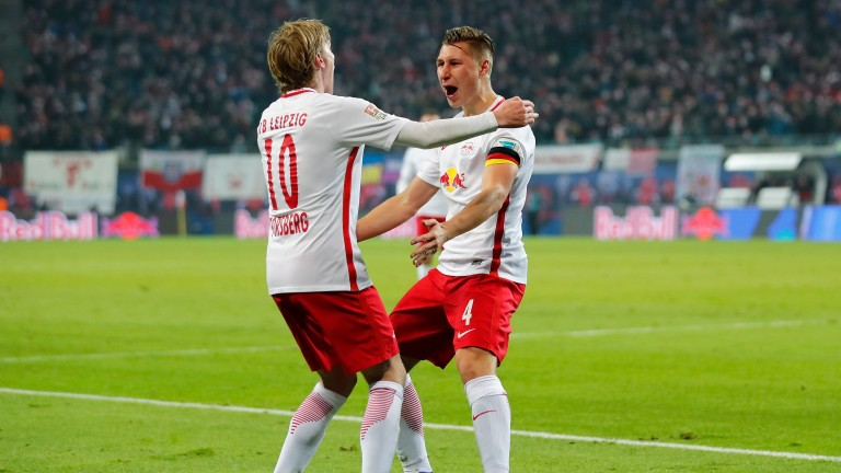 RB Leipzig had plenty to celebrate in the first half of the Bundesliga season