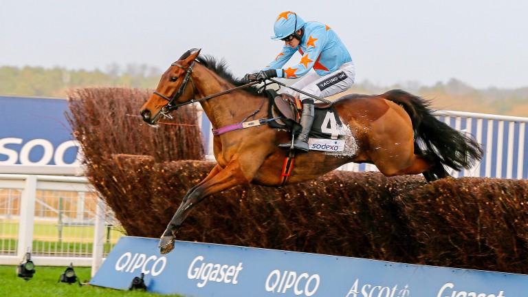Un De Sceaux won last season's Clarence House Chase at Ascot - this year he seeks to win it at Cheltenham