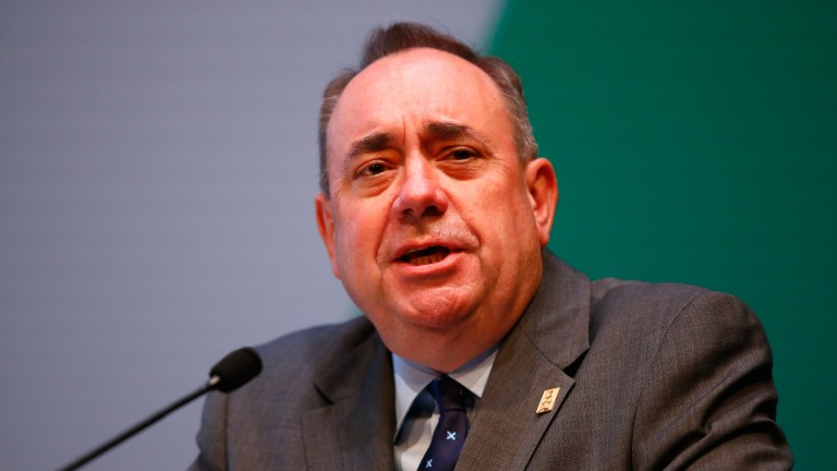 Alex Salmond: one of those MPs to have questioned the Jockey Club's ownership of Kempton