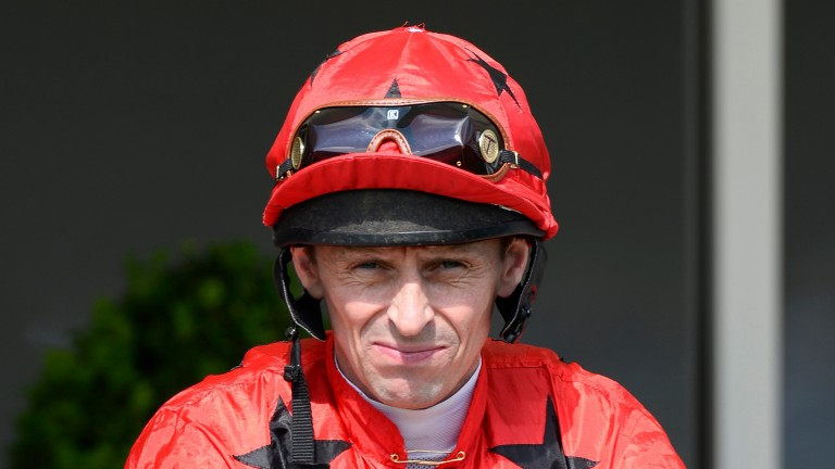 Ted Durcan - hoping to return to the saddle next month