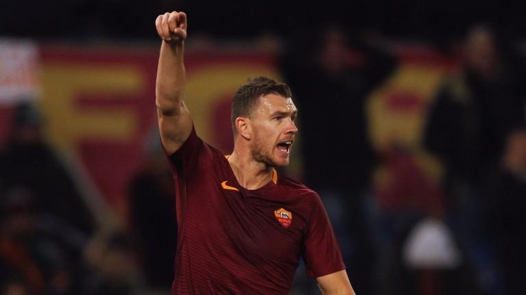 Roma hotshot Edin Dzeko