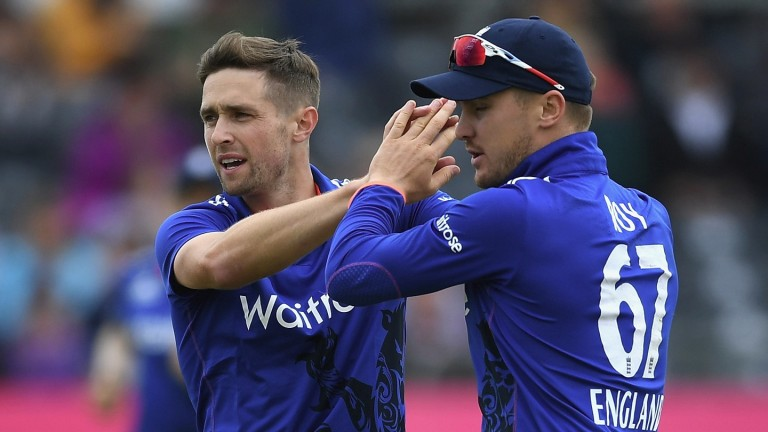 Chris Woakes and Jason Roy have impressed for England's one-day side in India