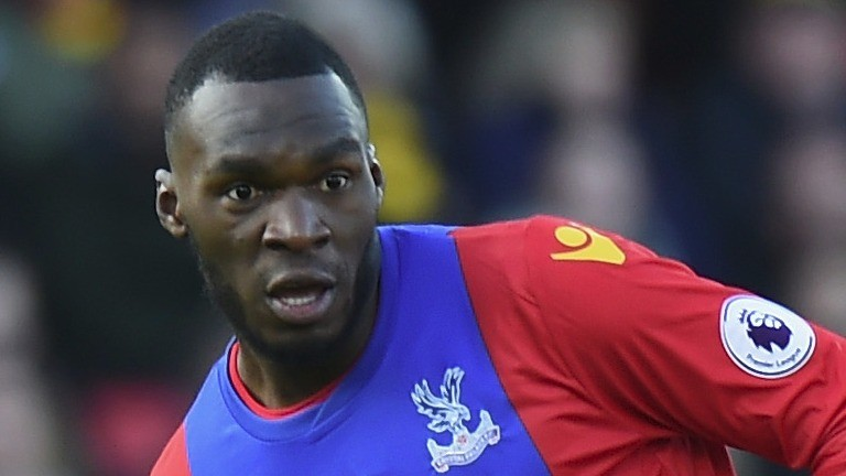 Christian Benteke of Crystal Palace