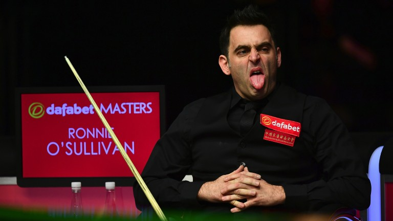 Ronnie O'Sullivan got a fright from Liang Wenbo in the first round