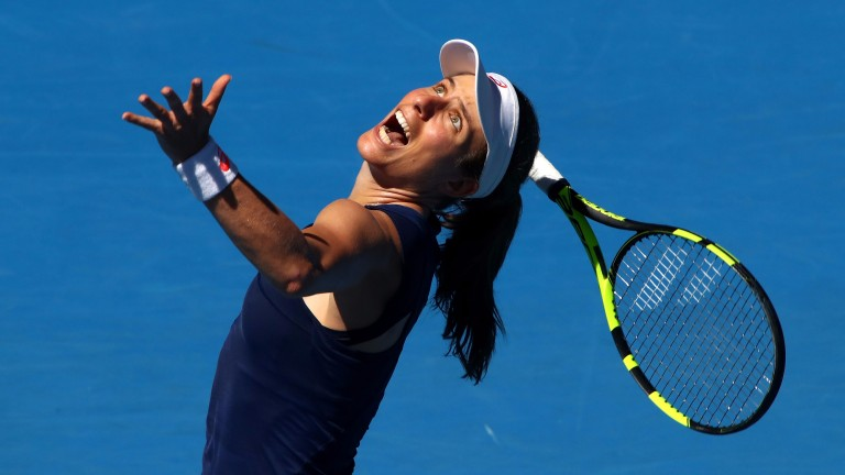 Johanna Konta has been in sizzling form