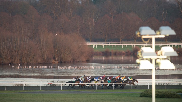 Kempton racecourse is one of the largest open spaces in Spelthorne and is in the green belt