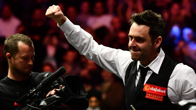 Ronnie O'Sullivan has a winning mentality