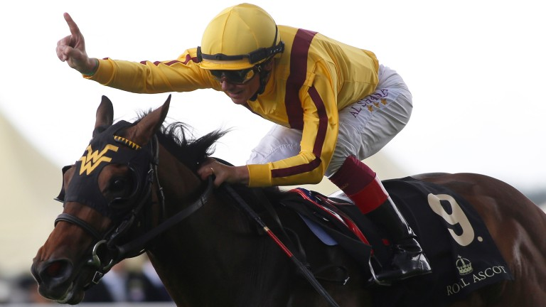 Lady Aurelia's Queen Mary success was the standout performance by a juvenile filly