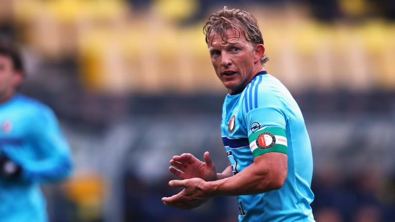 Feyenoord captain Dirk Kuyt
