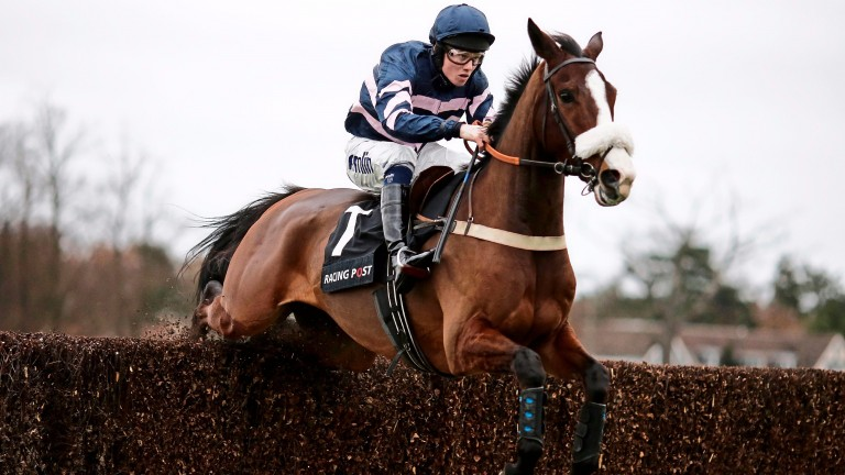 Ar Mad gains his biggest win in the Henry VIII Novices' Chase at Sandown