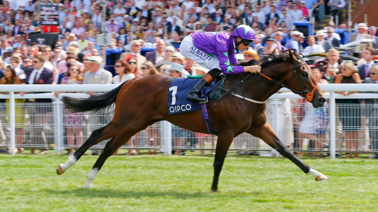 Ivawood: wins the Group 2 Richmond Stakes at Goodwood at two