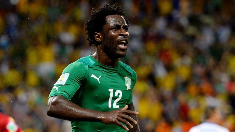 Wilfried Bony of the Ivory Coast
