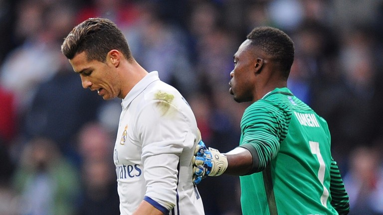 Cristiano Ronaldo has not looked a happy chappy