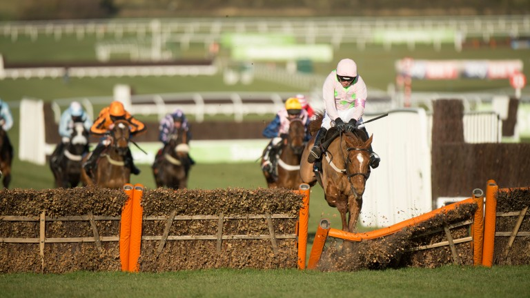 Annie Power crashes through the last, saving the bookie a fortune
