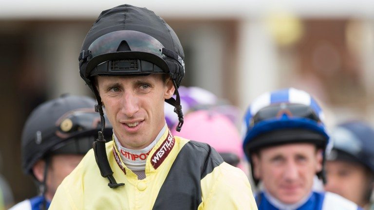 George Baker: knocked unconscious after fall