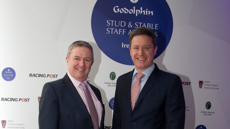 Michael O'Rourke (left): leaving Horse Racing Ireland
