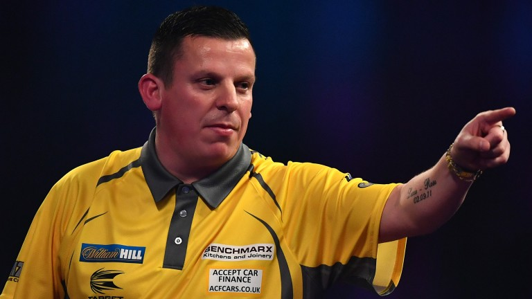 Dave Chisnall could score highly against Adrian Lewis