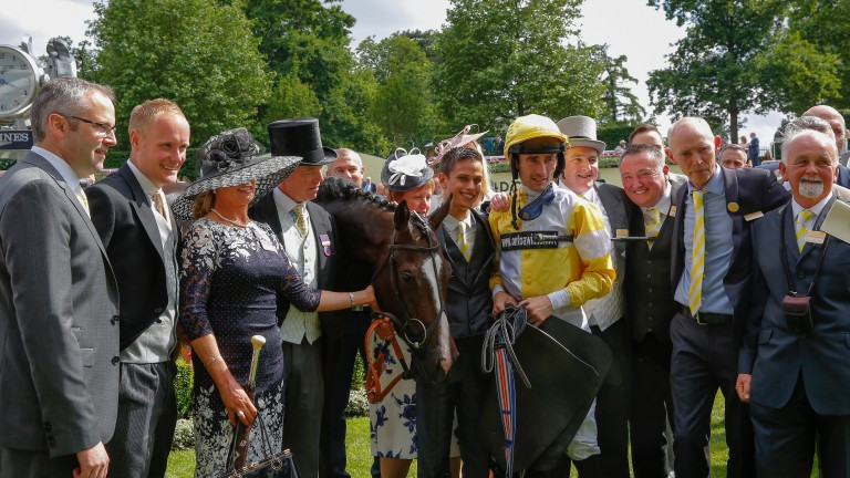 The Quiet Reflection team after the Commonwealth Cup - including OnToAWinner co-founder Niall O'Brien (far left)