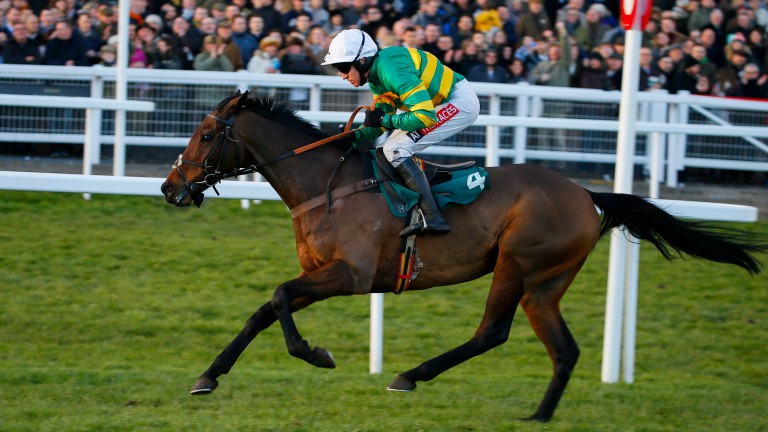 Unowhatimeanharry and Barry Geraghty strike in the Grade 2 Cleeve Hurdle in January