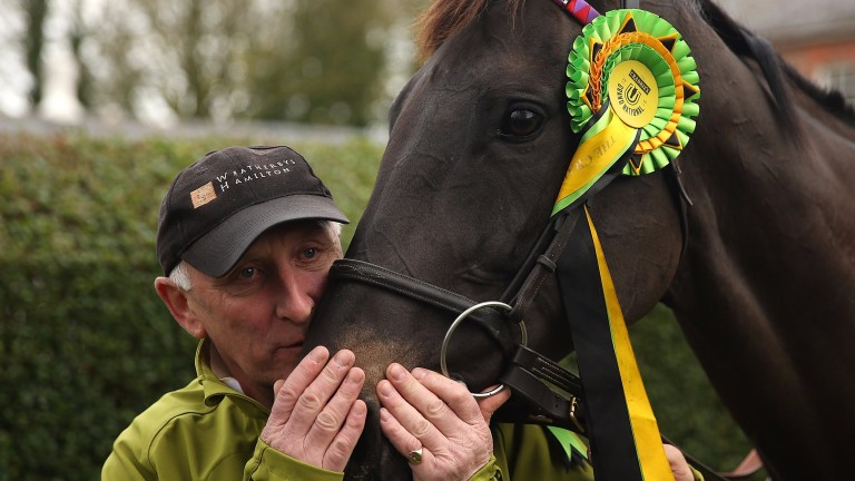Oliver Sherwood and the ever-courageous Many Clouds