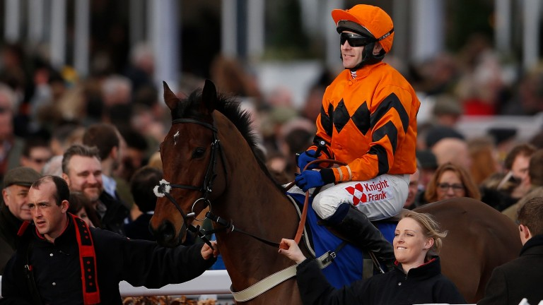 """Thistlecrack and Tom Scudamore: """"I don't think we've lost much in defeat,"""" said the jockey"""