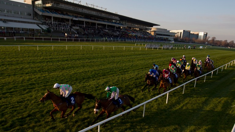 Leopardstown: hosts a seven-race jumps card on Monday
