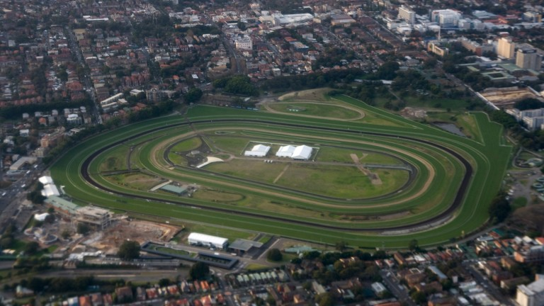 Royal Randwick: scene for the world's richest turf race