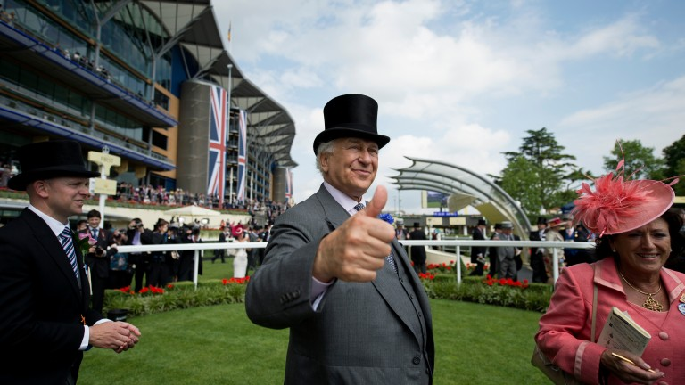 Sir Evelyn de Rothschild: has not given thumbs up to Kempton plans
