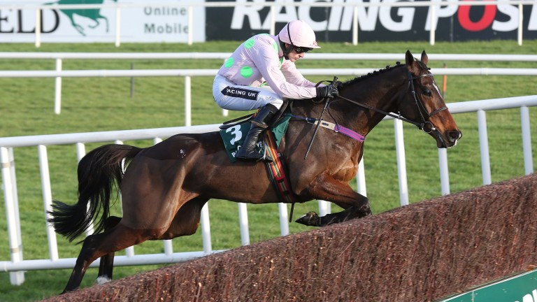 Douvan bids to extend his unbeaten run for Willie Mullins to 13 in the Tied Cottage