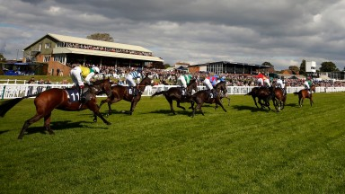 Hereford racecourse: stages meeting on Monday