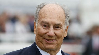 Aga Khan: has a small but select broodmare band in Australia