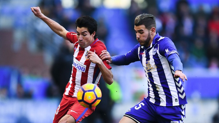 Alaves held Atletico Madrid to a goalless draw at the weekend