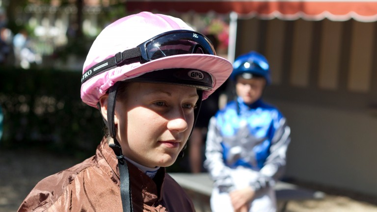 Amelie Foulon has ridden winners for Godolphin, Edouard de Rothschild and Andre Fabre's wife Elisabeth
