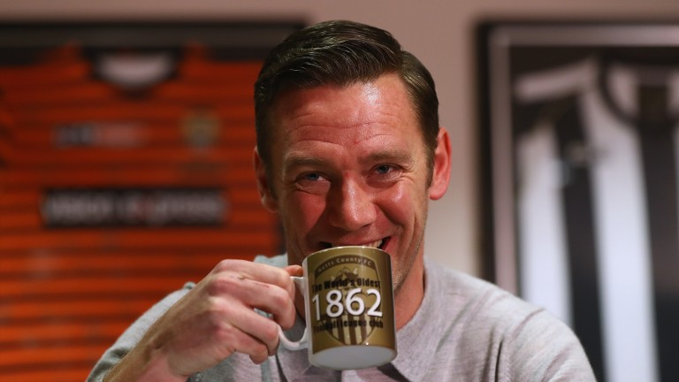 New Notts County manager Kevin Nolan