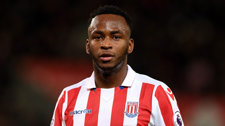 Saido Berahino returns to the Hawthorns, two weeks after joining Stoke