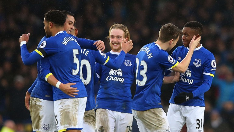 Everton have won three of their last five outings