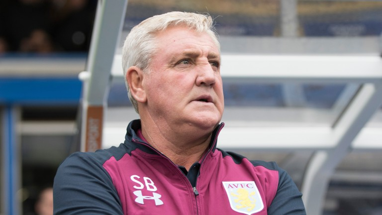 Aston Villa Steve Bruce has had plenty to ponder lately