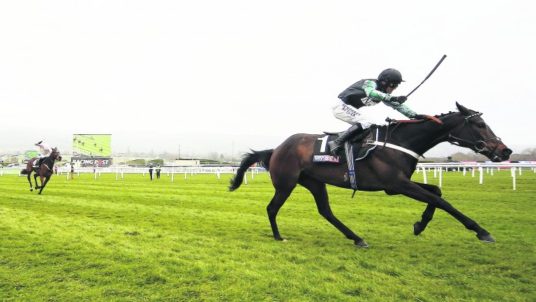 Altior: passed his toughest test over fences with flying colours