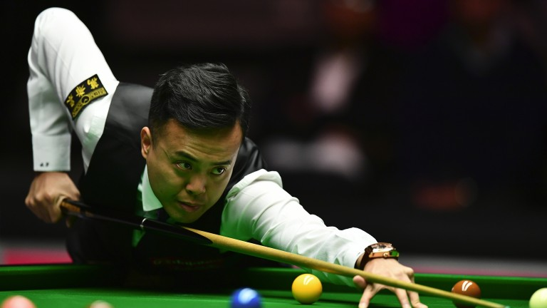 Marco Fu has looked in good form in Preston