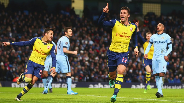 Bookmakers would have loved Arsenal's win at Manchester City in January 2015 to have come a day earlier