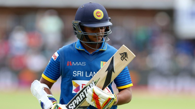Sandun Weerakkody showed up well in Sri Lanka's middle order in Cape Town