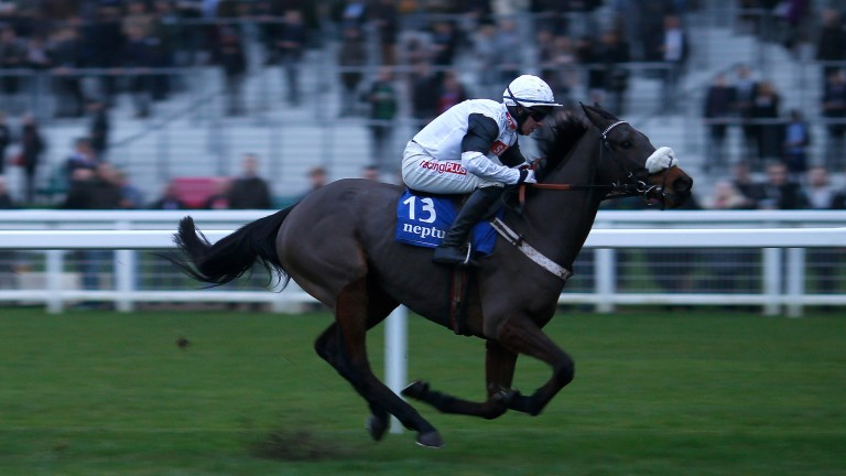 Western Ryder made it two wins from three starts at Ascot in December