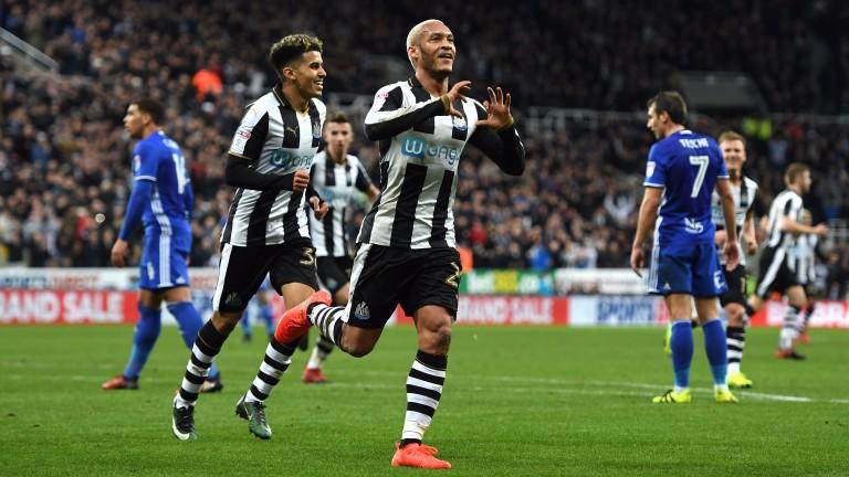 Newcastle winger Yoan Gouffran
