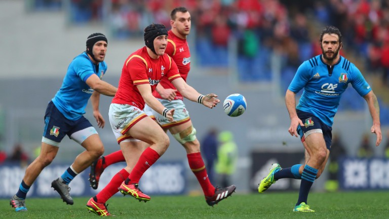 Fly-half Sam Davies is on the bench for Wales again today